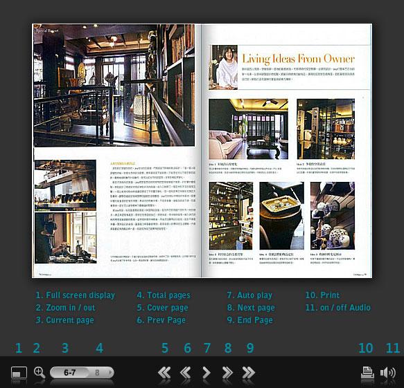 Guide of online ebook